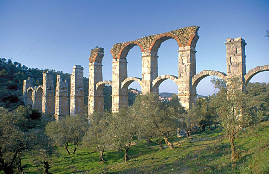 The Roman Aqueduct at Moria