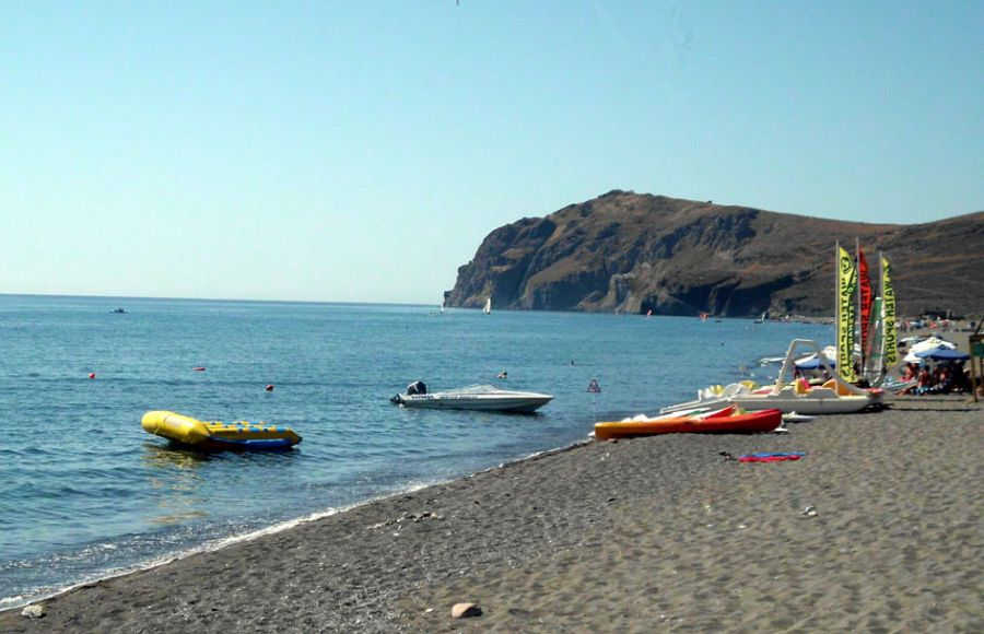 Eresos beach. The birth place of the tenth muse